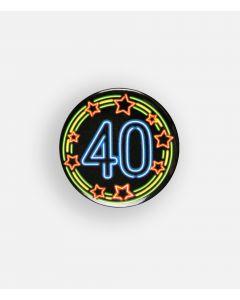 NEON Button 40