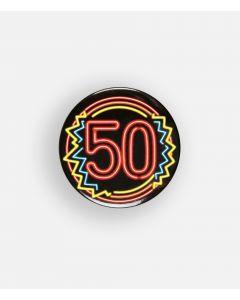 NEON Button 50