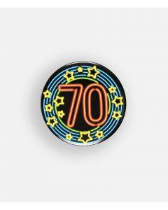NEON Button 70