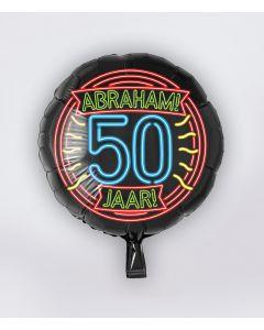 NEON Folie Ballon 50 Abraham