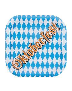 Oktoberfest Bordjes 6 Stuks