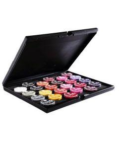 Superstar Schmink Pro Palette incl. 24 kleuren Aquaschmink 16 gram