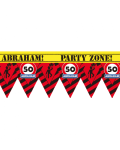 Party tape Abraham 12 meter