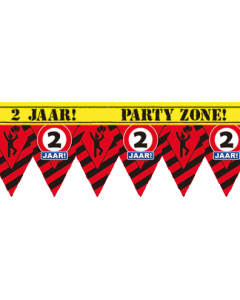 Party tape 2 jaar 12 meter