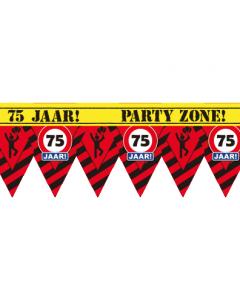 75 jaar 12 meter Party tape