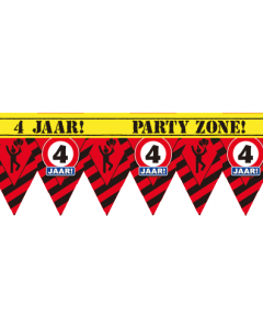 Party tape 4 jaar  12 meter