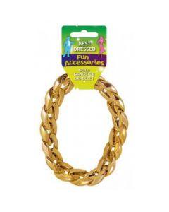Gouden Gangster Armband (31CM)