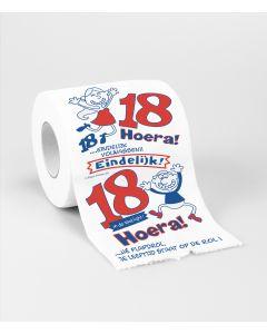 Toiletpapier - 18 Jaar