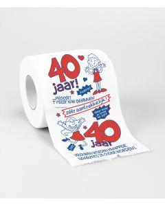 40 Jaar - Toiletpapier Vrouw