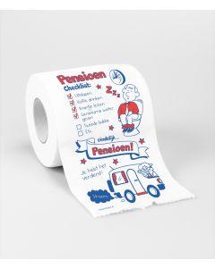 Toiletpapier - Pensioen