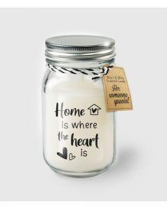 Geur Kaars Home is Where The Heart