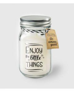 Geur Kaars Enjoy The Little Things