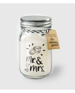 Geur Kaars Mr. & Mrs.