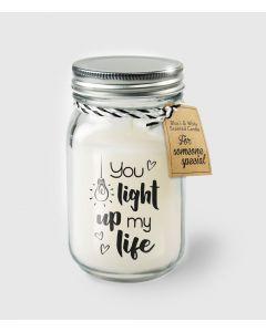 Geur Kaars Light Up My Life