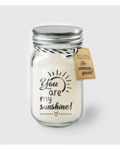 Geur Kaars You Are My Sunshine