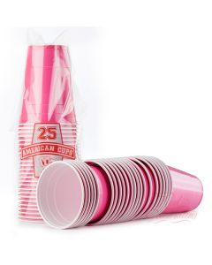 American Pink Cups 25 stks
