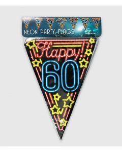 Neon Vlaggenlijn 60 Jaar