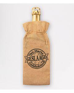 Bottle Gift Bag - Geslaagd