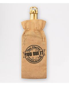 Bottle Gift Bag - You Did It