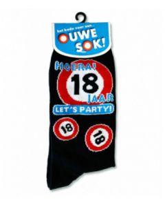 """Sokken 18 Jaar Let""""s Party !"""