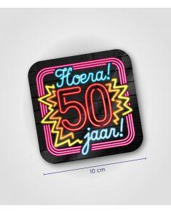 NEON Onderzetter 50 jaar