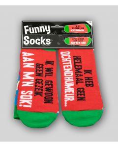 Funny Sokken Geen Ochtendhumeur