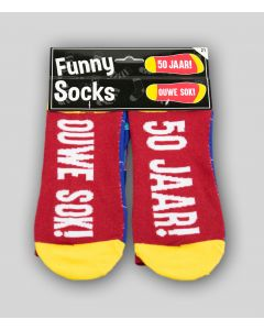Funny Sokken 50 Jaar! Ouwe Sok!