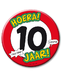 XL Button 10 jaar