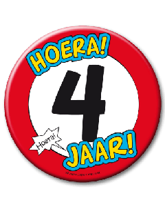 XL Button 4 jaar