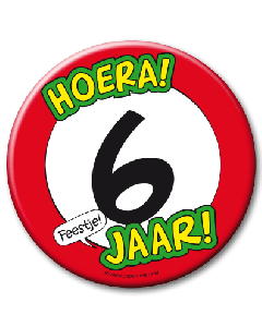 XL Button 6 jaar