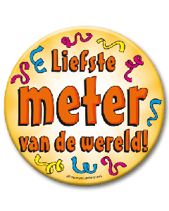 XL Button  - Liefste meter