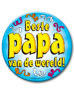 XL Button  - Beste papa