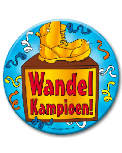 XL Button  - Wandelkampioen