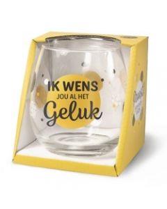 Drinkglas - Geluk