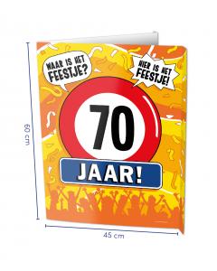 70 Jaar Raambord ( Window-sign )