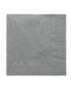 Servetten Zilver 33X33 cm