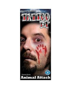 Tattoo Trauma Animal Attack