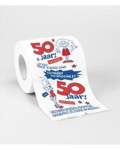 50 Jaar - Toiletpapier Vrouw