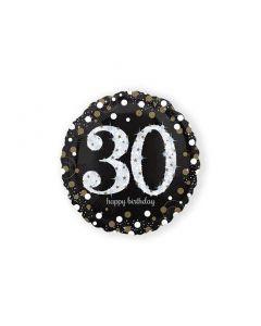 Folieballon Verjaardag 30 Jaar