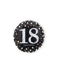 Folieballon Verjaardag 18 Jaar