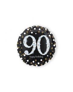 Folieballon Verjaardag 90 Jaar