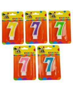 Nummerkaars 7 (7CM)