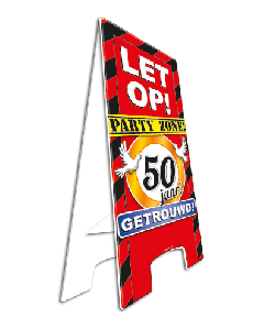 Warning Sign 50 Jaar Getrouwd